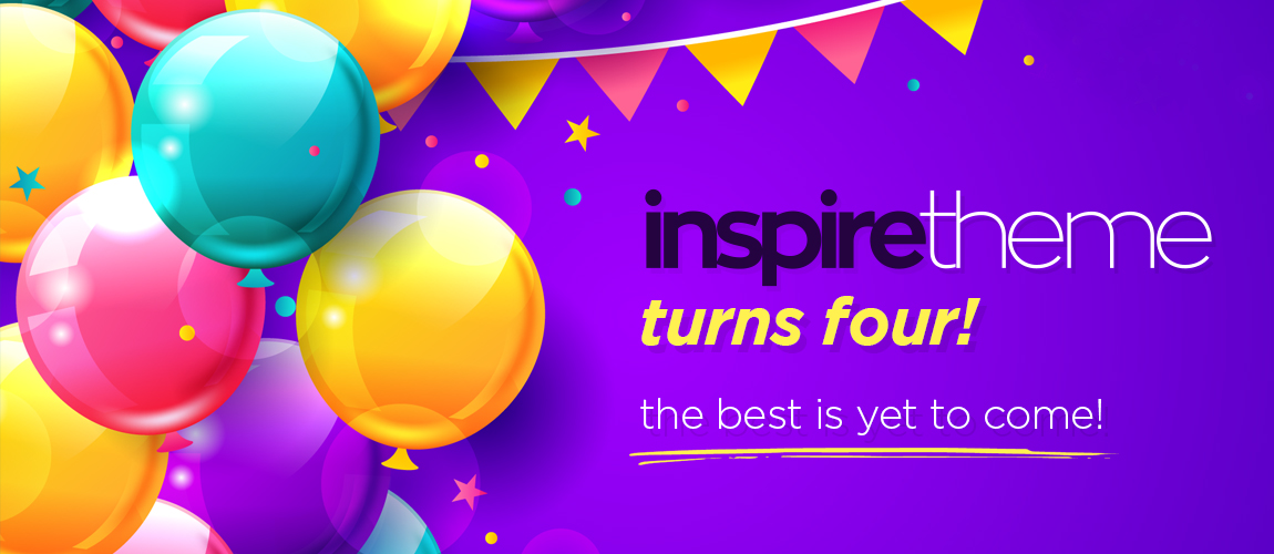 InspireTheme Turns Four