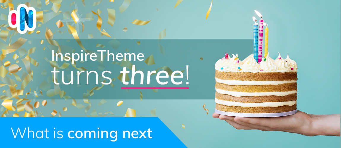 InspireTheme Turns Three