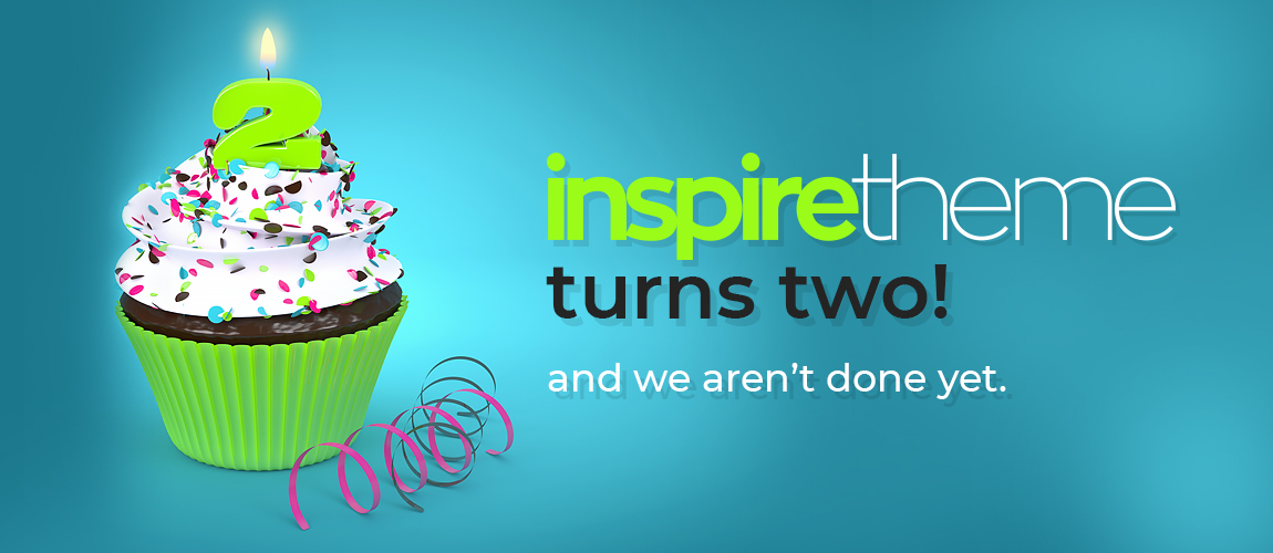 InspireTheme turns two!