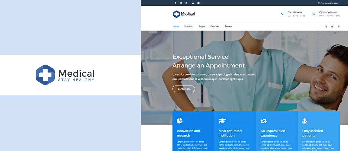 Meet Medical - An Awesome Gantry 5 Theme for Joomla