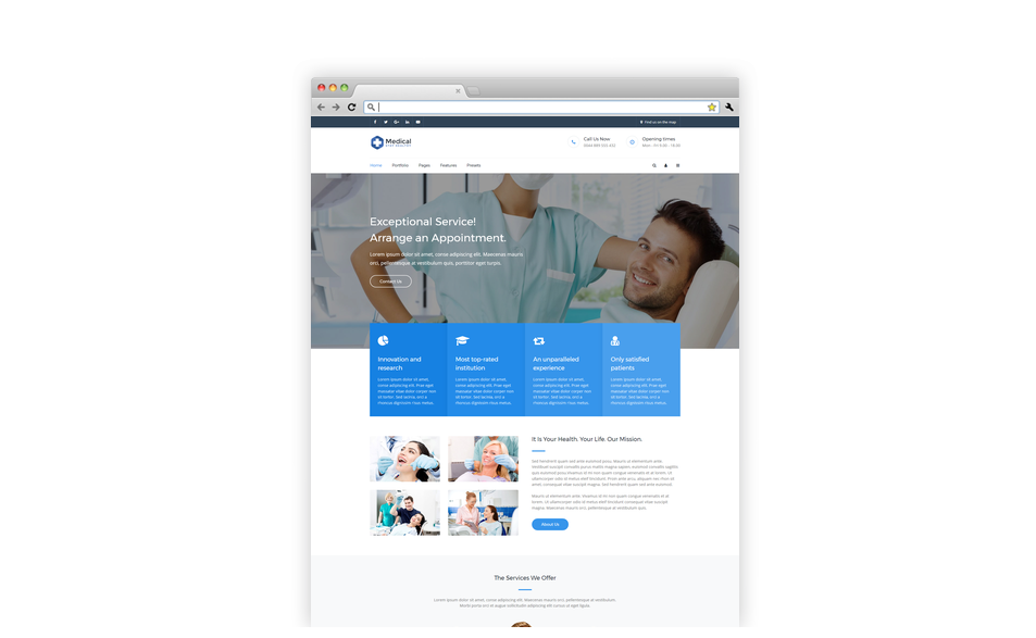 Medical - Joomla Template