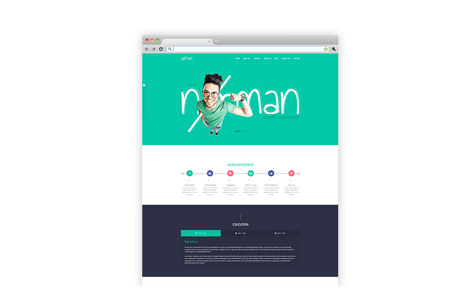 Norman - Joomla Template