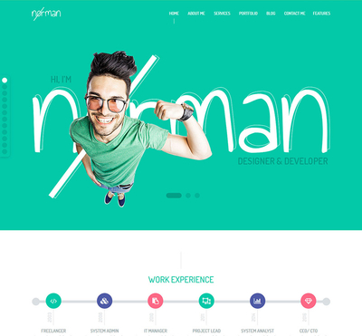 Norman - Gantry 5 Joomla Template