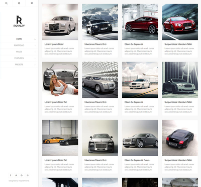 Royalty - Gantry 5 Joomla Template